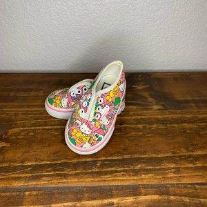 Vans hello kitty sneakers size toddler 4.0